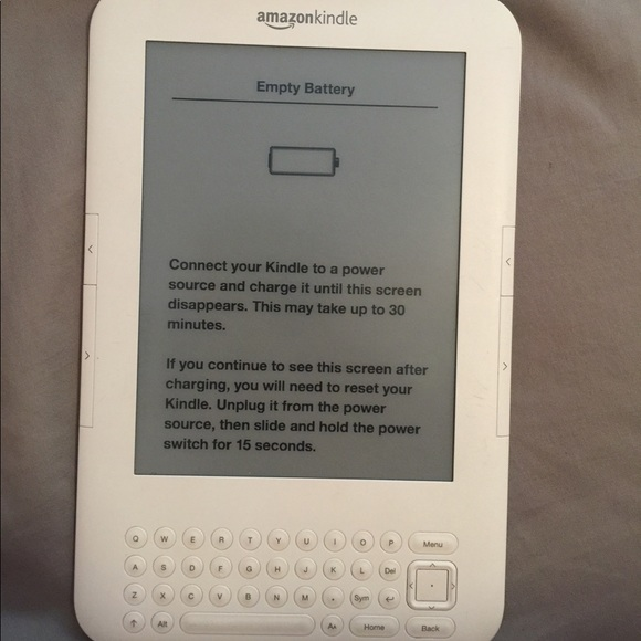 Amazon kindle in great condition barely used!